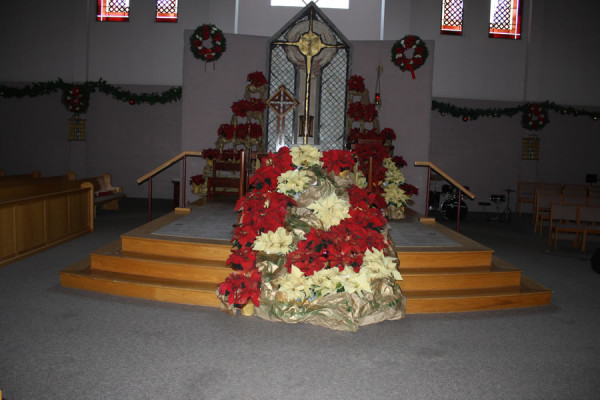Nativity Scene at St. Anne's